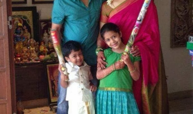 Surya (Saravanan Sivakumar) and Family
