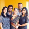 Late actor Ratheesh's Family