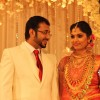 Muktha George Wedding Reception stills