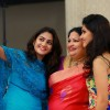 Ponnamma babu's daughter pinky's engagement stills