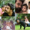Tovino Thomas with family