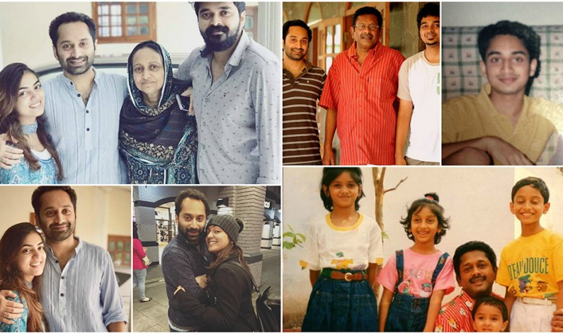 Fahad Faasil Family Photos