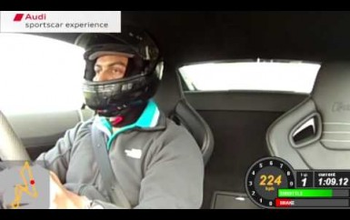 Prithviraj – Audi Sports Car Experience