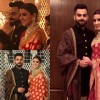 Virat Kohli – Anushka Sharma Wedding Reception Photos