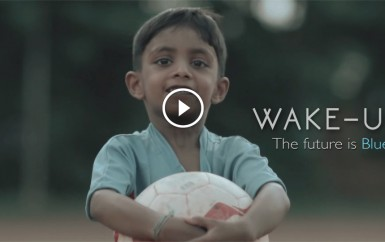 WAKE UP – The future is Blue | Indian football Promotional Video!!