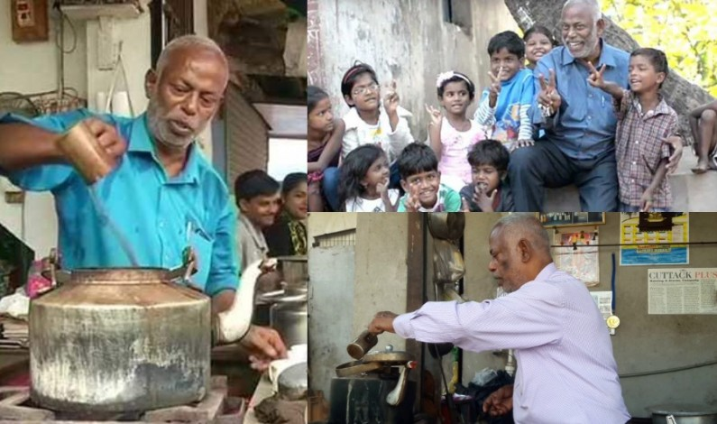 Meet the man who turned to be tea seller for helping slum children!!!