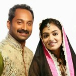 Nazriya Nazim - Fahad Fazil engagament Photo Wedding