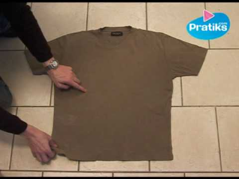 How To Fold A Shirt In 5 Seconds