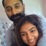 nazriya fahad fazil selfie photo