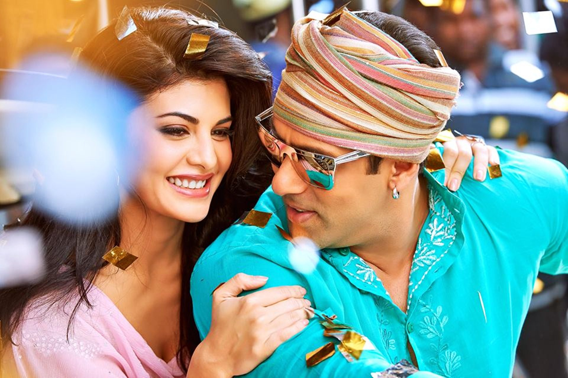 Kick - Salman Khan and Jacqueline Fernandez Wallpaper