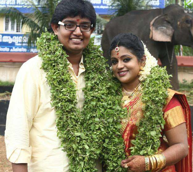 Serial-actress-veena-nair-marriage-photos0