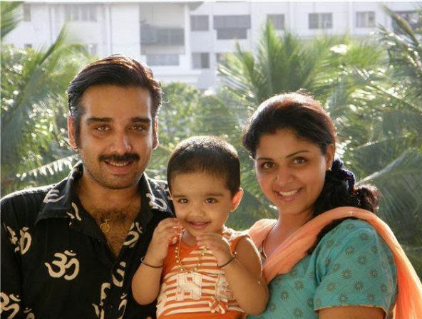 Vineeth and family stills