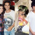 Akshay Kumar and family stills