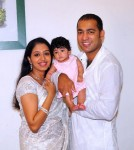 Actress Gopika and Family stills