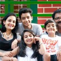 Esther anil and Family - stills