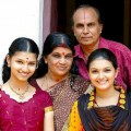 Saranya Mohan and Family stills