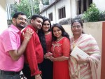 Meghana Vincent Engagement Stills